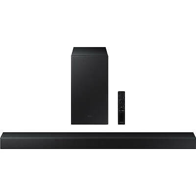 Samsung 300W 2.1-Channel Soundbar with Wireless Subwoofer - 2021 Model *HWA450