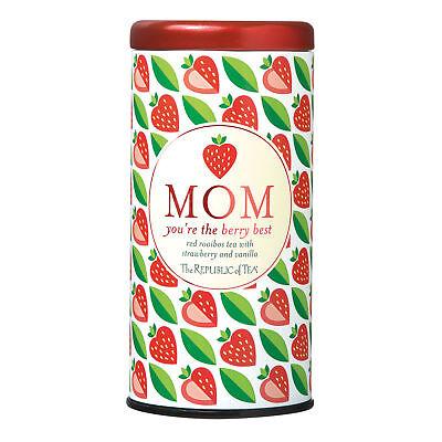 The Republic Of Tea Mom You're The Berry Best Tea, 36 Tea Bags, Gourmet Tea,