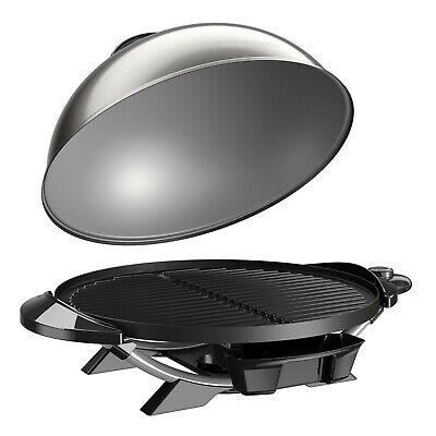 """George Foreman 240"""" Indoor Outdoor Electric Grill BBQ Barbec"""