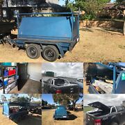 8x5 tradesmen trailer and ford ranger 3 piece hard lid and roll bar Hoppers Crossing Wyndham Area Preview