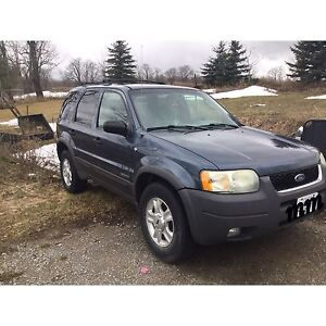 Ford Escape 2001