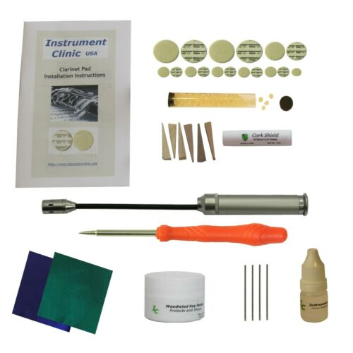 IC540 Clarinet Pads, Universal Pad Kit, Made in USA!