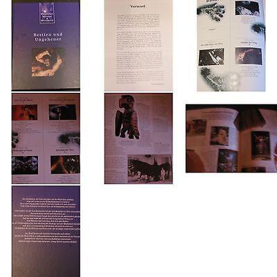 Menschen,Mythen-Mysterien Buch von 1992-Bestien und Ungeheuer-Bildband