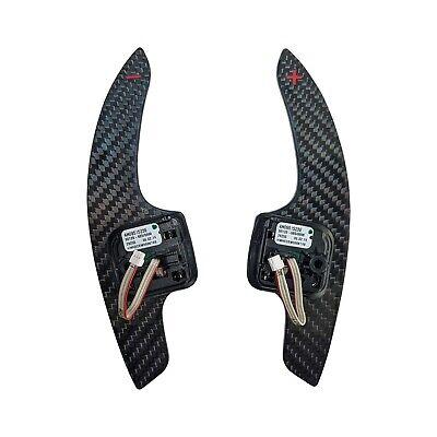 Audi Carbon Fiber Paddle Shifters OEM - A3/A4/A5/A6/A7/A8/S3/S4/S5/S6/S7/S8/RS
