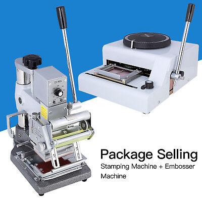 72 Character Manual Embosser Machinehot Foil Stamping Printing Machine Pvc Card