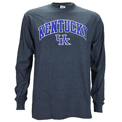 University of Kentucky Arch on a Long Sleeve Dark Heather T (Warehouse Dark)