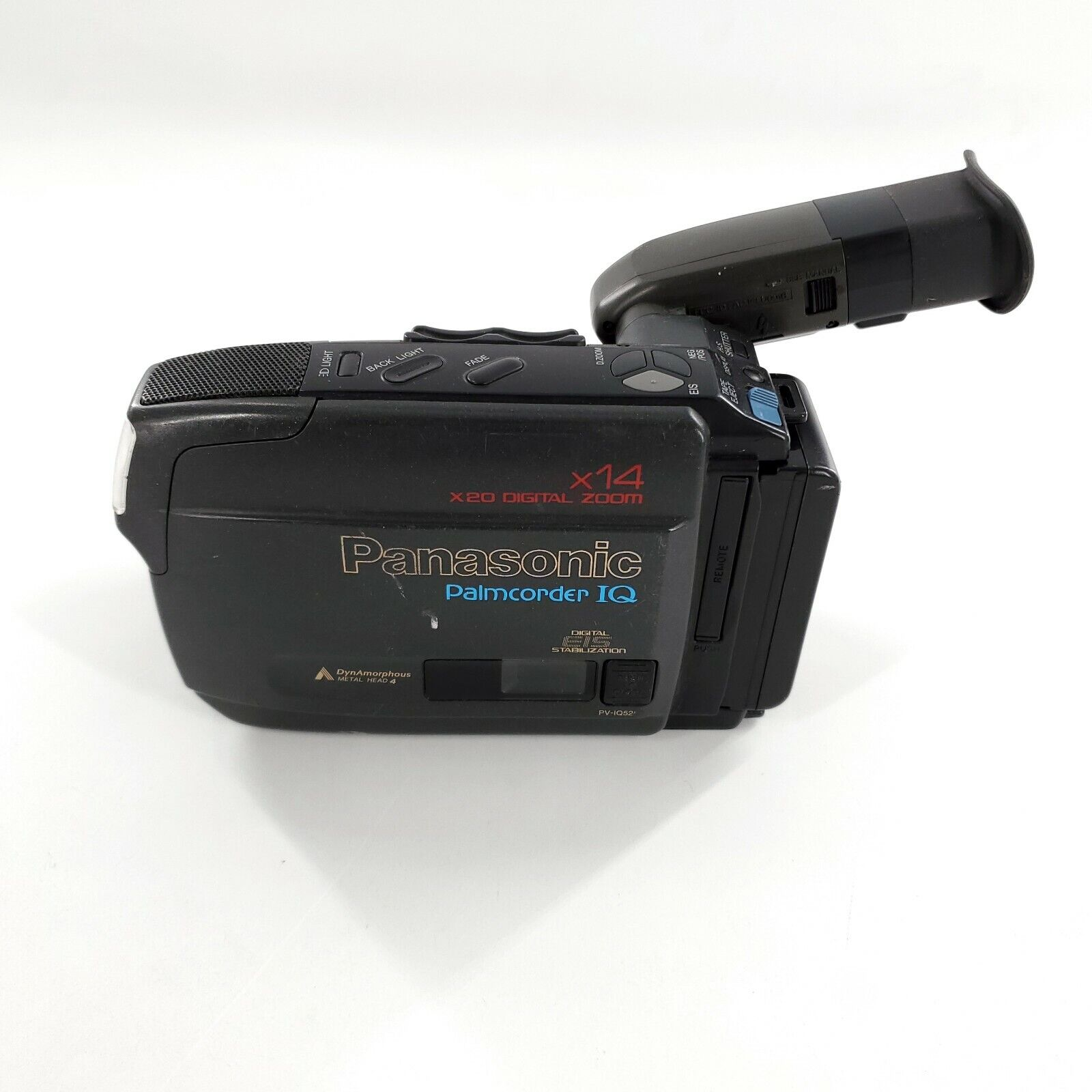 Panasonic Palmcorder IQ PV-IQ525D VHS-C Camcorder W/ Battery, Tested Works - $29.99