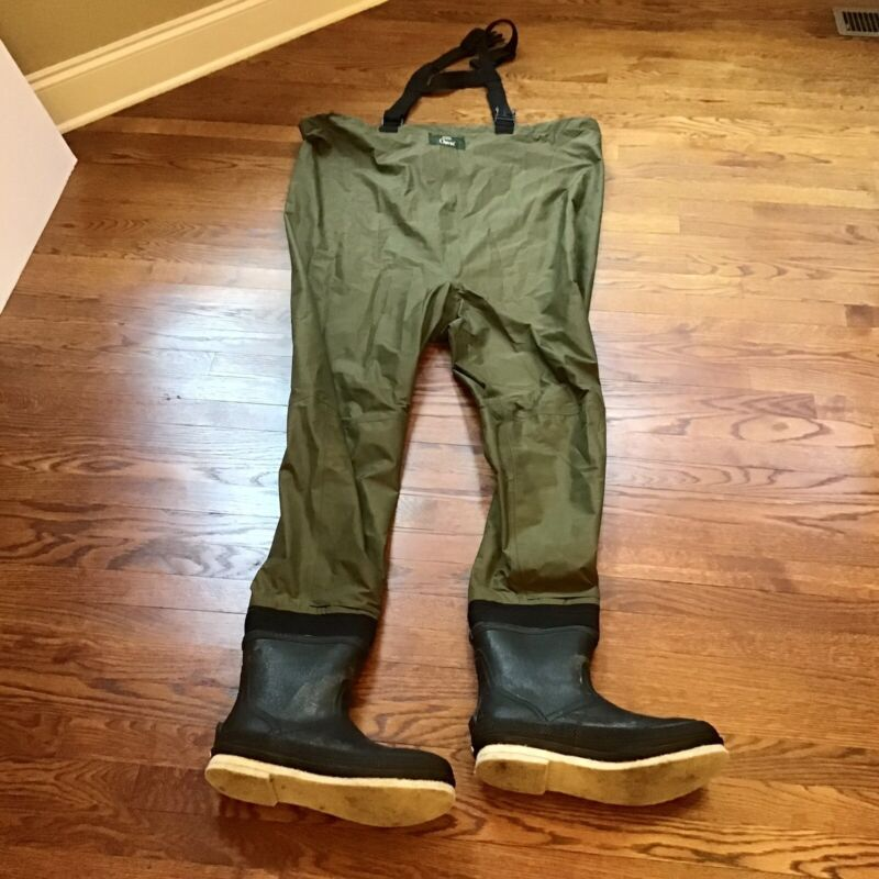 Orvis Chest High Fly Fishing Bootfoot Waders Green RN 3876 Size L11