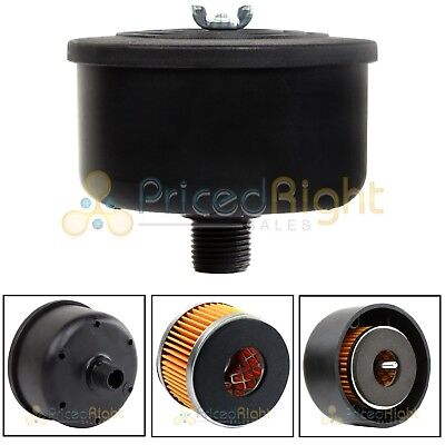 """New 1/2"""" Puma Air Compressor Intake Replacement Filter And Plastic Housing"""