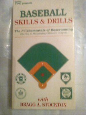 Baseball Skills & Drills - The Fundamentals of Baserunning VHS baseball (Baseball Baserunning Drills)