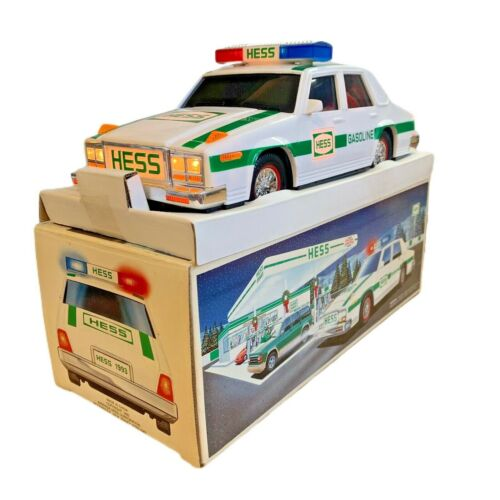 1993 Hess Police Patrol Car, 1st Edition, Used in Original box - Siren Issue