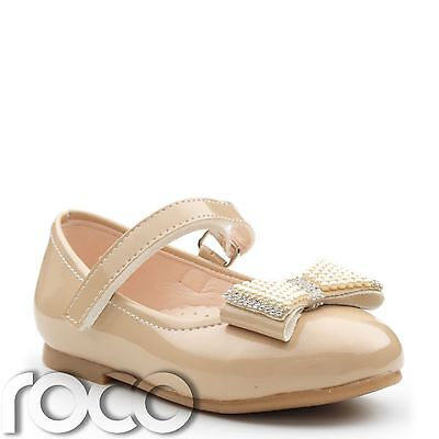 Baby Girls Caramel Shoes, Dolly Shoes, Baby Girls Shoes, Flower Girl