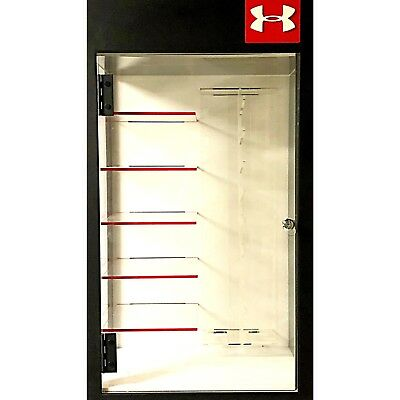 Under Armor Eyewear Glasses Retail Locking Display Case