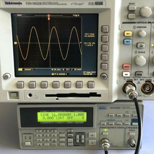 Tektronix AFG310 Single Ch. Arbitrary Function Generator 0.01 Hz - 16 MHz