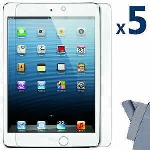 5Pcs-Ultra-Clear-Screen-Protector-Guard-Cover-for-Apple-iPad-Mini-16GB-32GB-64GB