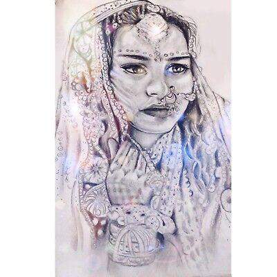 ÜNSTIG Indische Braut EINZELSTÜCK Bleistift Papier NEU (Günstige Bleistifte)