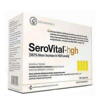 (SeroVital 120ct Clinical Strength 30 Day Supply Supplement ...FREE SHIPPING)