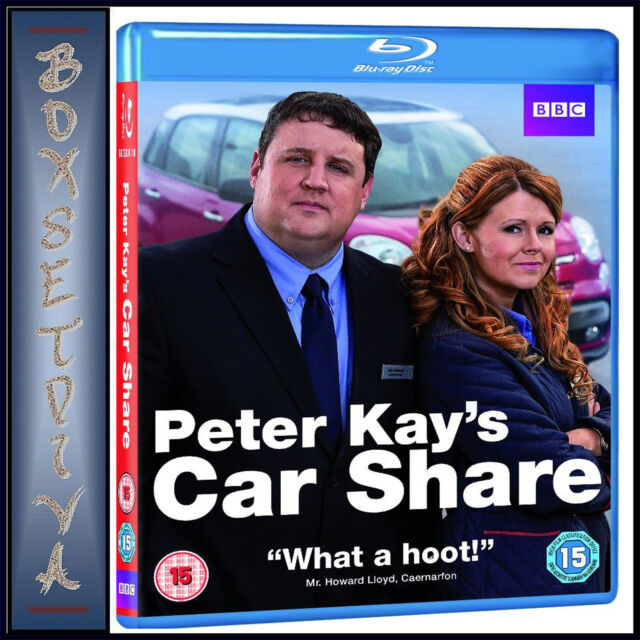 PETER KAYS CAR SHARE - COMPLETE BBC SERIES 1 *BRAND NEW BLU-RAY***