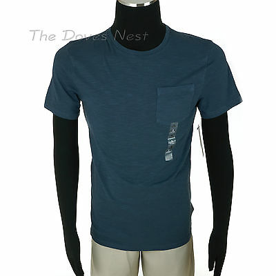SONOMA Men's SMALL Crew Neck BLUE T-SHIRT Short Sleeve