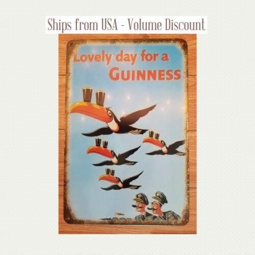 Guinness Sign Lovely Day for a Guinness Sign Guinness Sign Vintage Guinness Sign