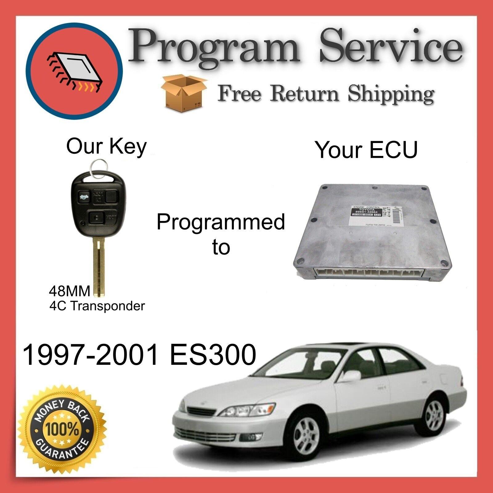 ✅ ECU Computer KEY PROGRAM | Lexus ES300 1997 1998 1999 2000 2001 97 98 99 00 01
