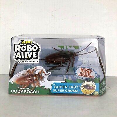 NIB ZURU ROBO ALIVE Crawling Cockroach Real life Robotic pets