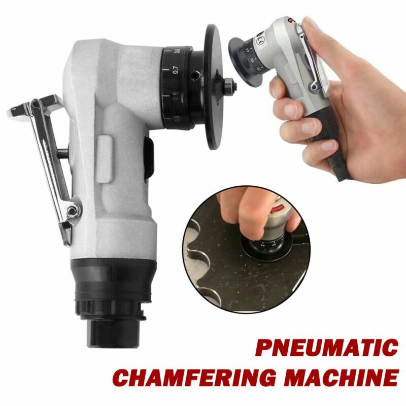 Mini Chamfering Machine 0.1-0.9mm Trimmer Straight Pneumatic Tool 30000rpm