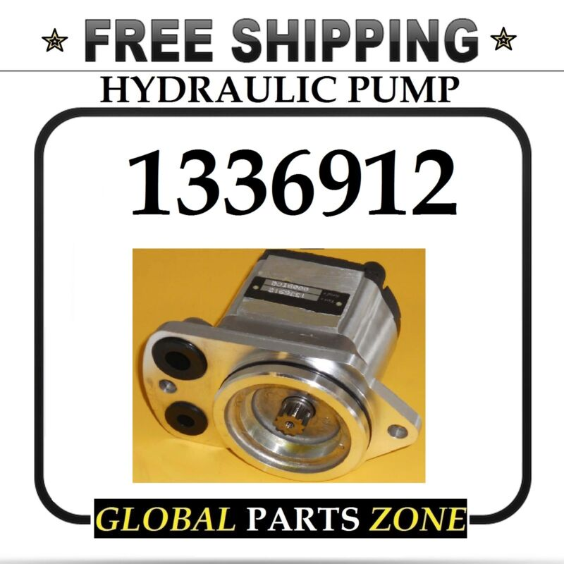 NEW HYDRAULIC PUMP GROUP GEAR for Caterpillar 1336912 1262147 FREE DELIVERY!!!