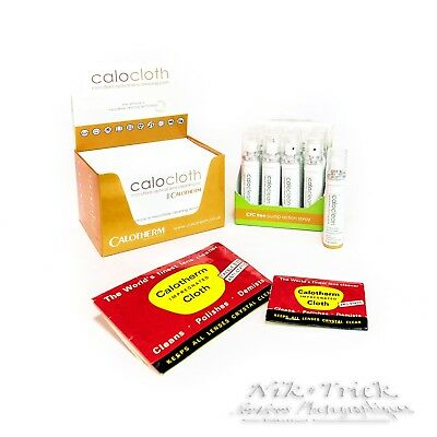 Camera Lens Cleaning Kit - Cloth & Fluid by Caloclean/Calothem -  The