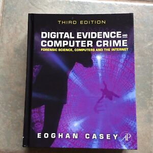 Brand New Digital Evidence and Computer Crime Textbook