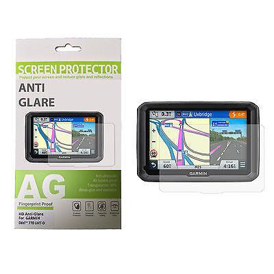 Anti-glare Screen Protector Kit for GARMIN DEZL 770 LMT-D Kit Anti Glare Screen Protector