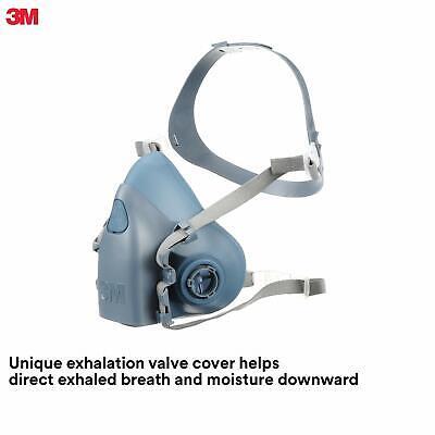 3m Reusable Respirator Half Face Piece 7502 Medium Cartridges Not Included
