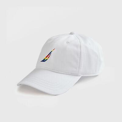 Nautica Mens Embroidered J Class Pride Cap