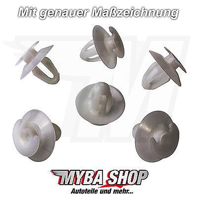20x Clips Türverkleidung für Mercedes Benz A0059888278 W300 W400 W600 NEU Weiß online kaufen