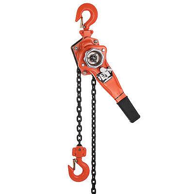 34 Ton Lever Block Chain Hoist Ratchet Type Come Along Puller 20ft Chain Lifter