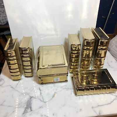 Z Gallerie Ceramic Golden Books Set (8)