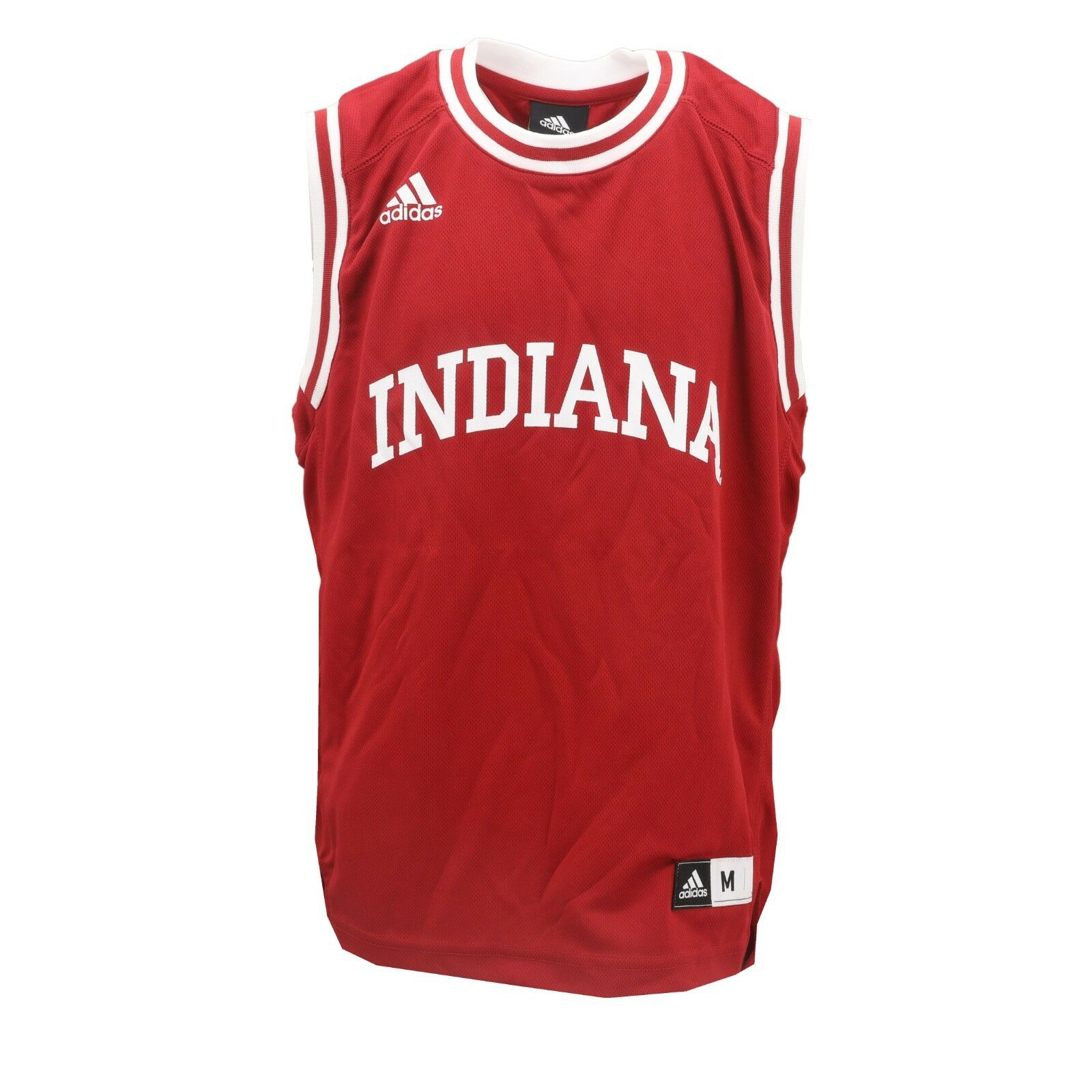 competitive price 0ac76 1709e Details about Indiana Hoosiers Official NCAA Adidas Kids Youth Size  Basketball Jersey New Tags