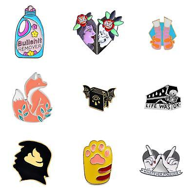 Wholesale Enamel Brooch Pins Shirt Collar Lapel Pin Breastpin Party Decor Adroit