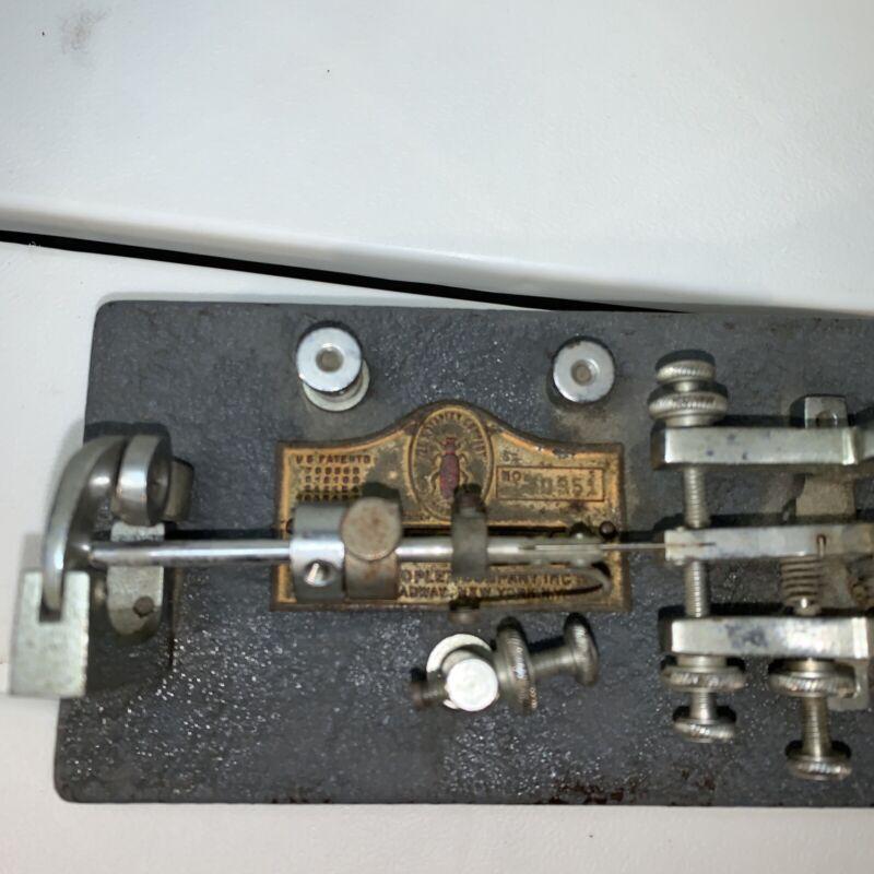 Vintage Vibroplex 130951 Morse Code