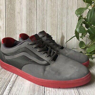 Vans LXVI Graph Granite Mens Lightweight Sneakers Skate Shoes Size 12
