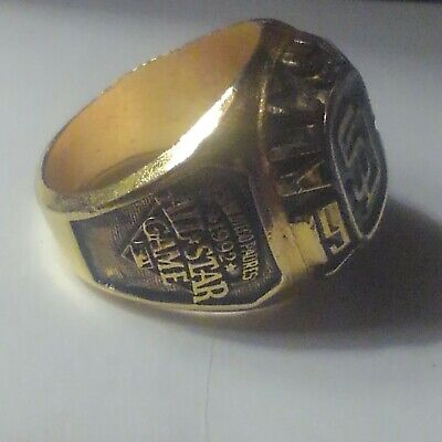 Costume Jewelry San Diego (Vintage 1992 MLB San Diego Padres Baseball All Star Game Costume Jewelry Ring)