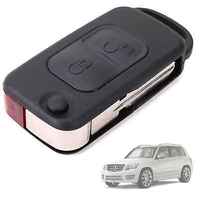 For Mercedes Benz A C E S 2 Button Flip Remote (Infra Red) Key FOB Shell Case