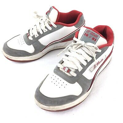 Reebok G-Unit Men's Sneakers Shoes Red White • Size 10.5