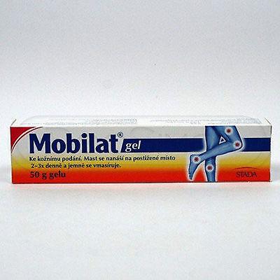 Mobilat Gel 50G   Sprains  Bruises  Stretch Tendons  Pain Arthritic And Hematom