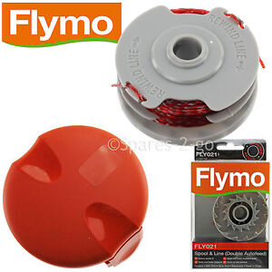 flymo strimmer trimmer double auto feed spool line cover. Black Bedroom Furniture Sets. Home Design Ideas