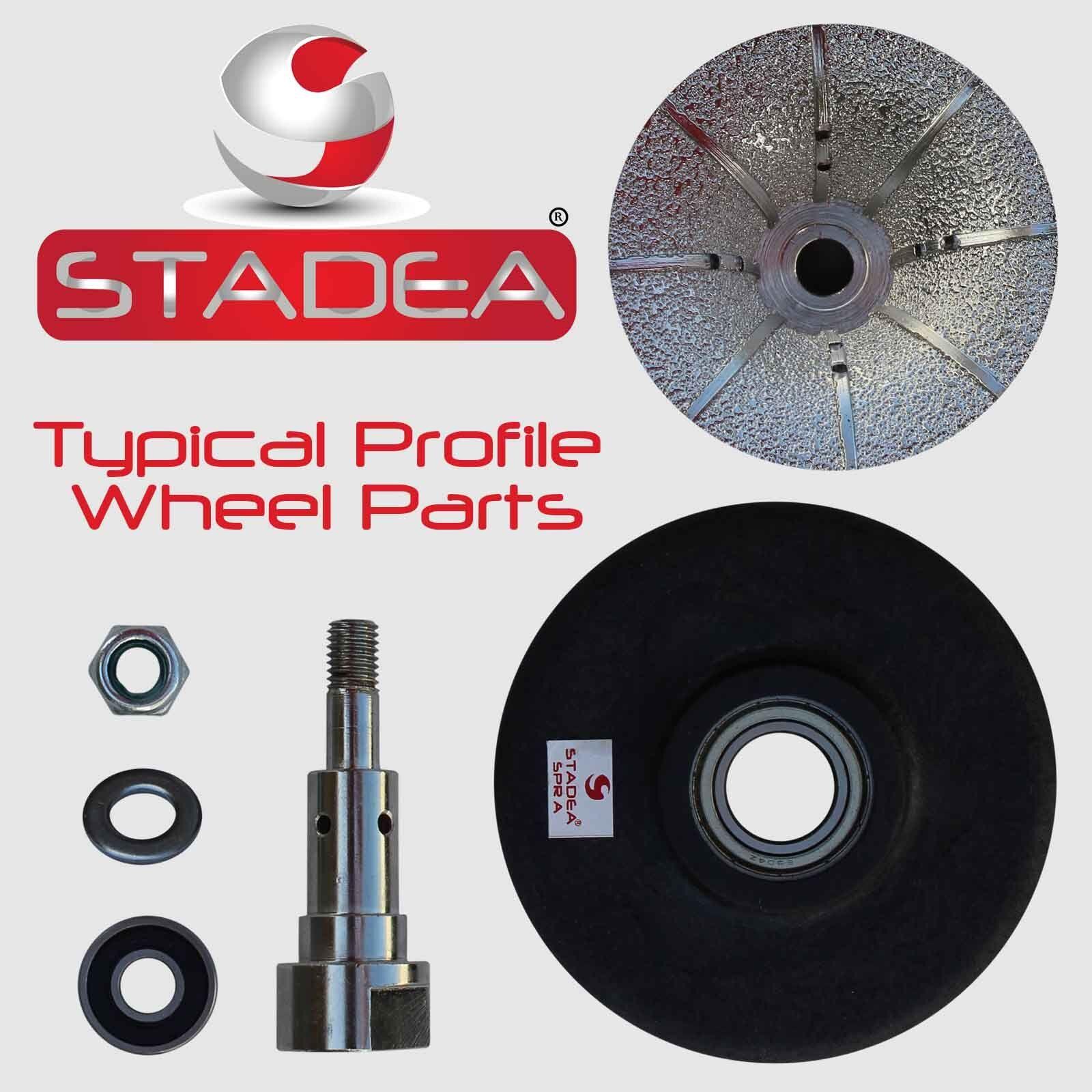 Stadea Diamond Profile Wheel Hand Bits 3 16 Quot Demi Radius