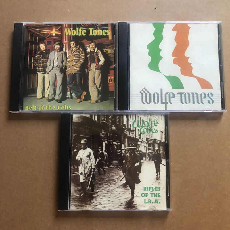 The Wolfe Tones - 3 CD LOT (Profile+Rifles of the IRA+Belts of the Celts) Celtic