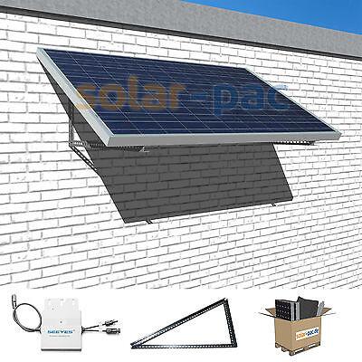 Mini-Photovoltaikanlage | Solarpanel mit 270Wp zur Stromerzeugung fürs Hausnetz