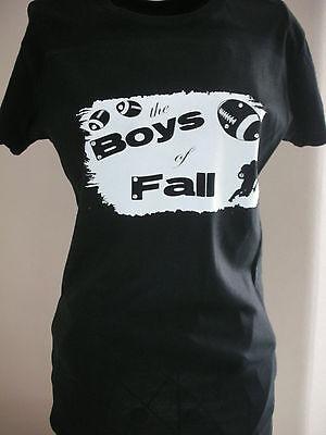 - Designer Boys of Fall Football Tee Rhinestone Embellished Sports Mom Fashions