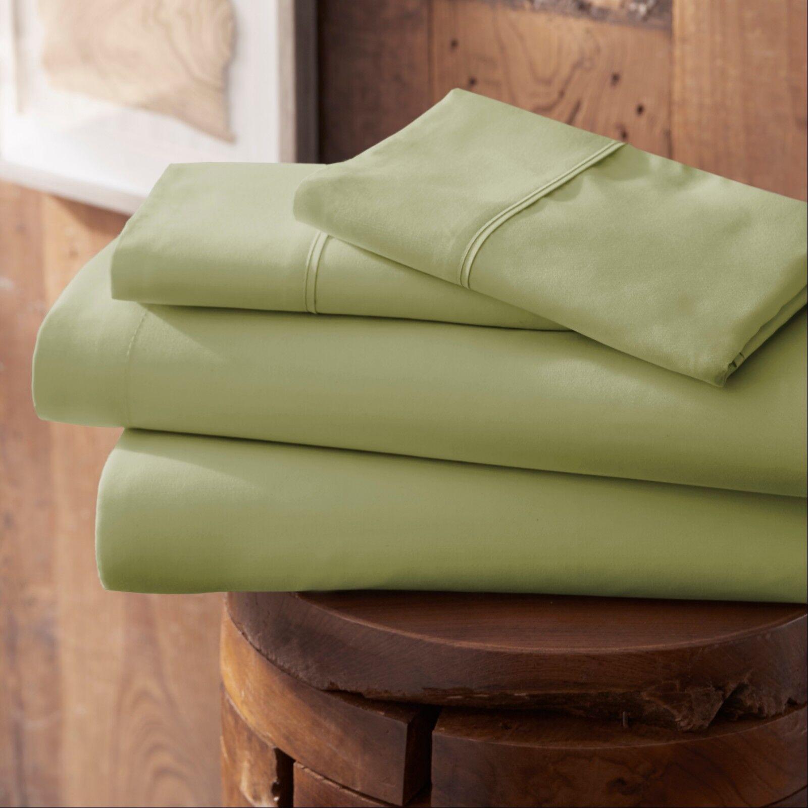Egyptian Comfort Hotel Luxury 4 Piece Deep Pocket Bed Sheet Set